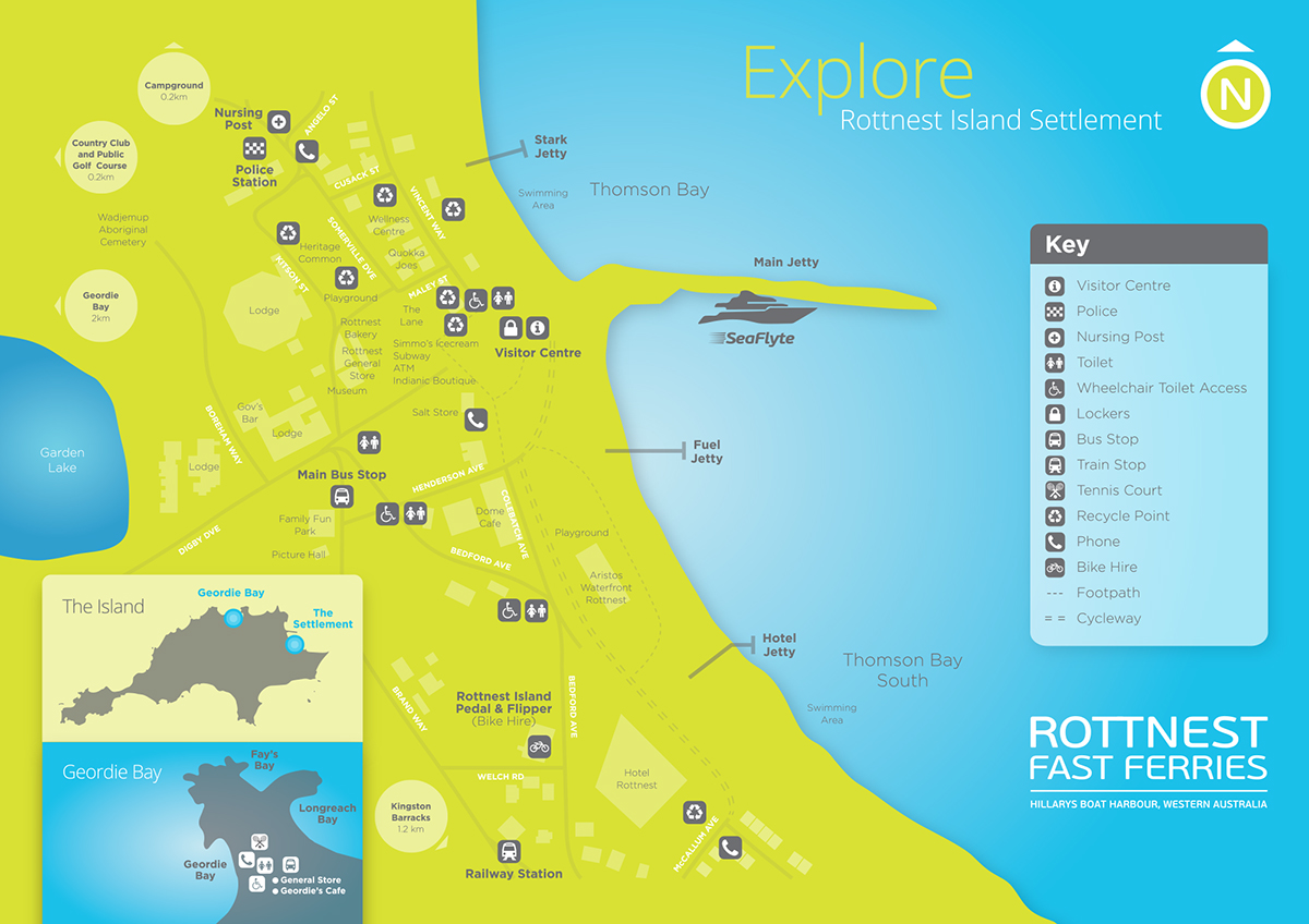 Rottnest Accommodation Map Ferry To Rottnest Island | Need To Know Before You Go | Rottnest