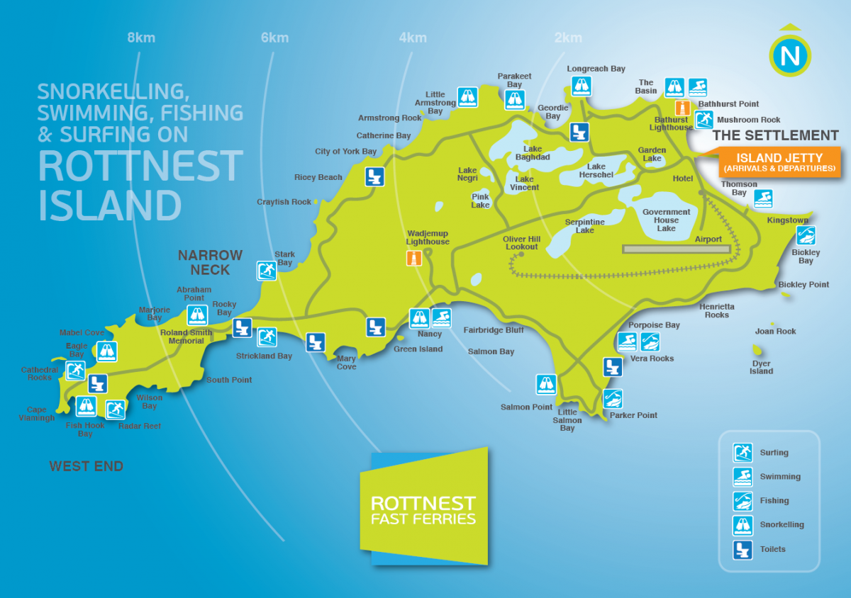 Rottnest Map NEW