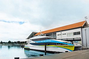 Harbour Master at the Hillarys Boat Harbour Terminal